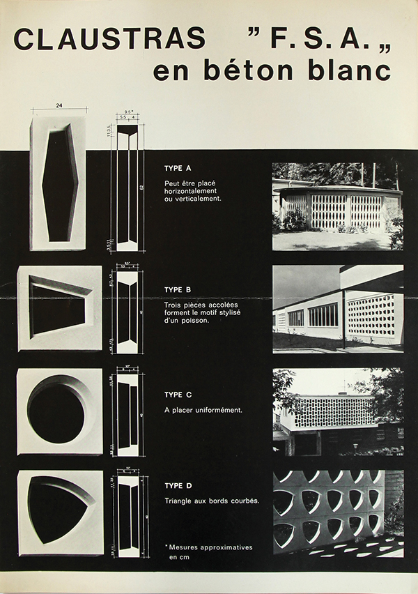 This Norm, NBN B21 601 For Precast Architectural Elements In Visible,  Decorative Concrete, Was Published In 1980.