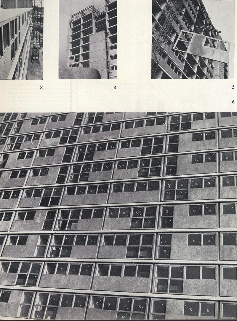 Decorative concrete for facade elements